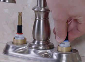How To Fix A Leaky Two Handled Kitchen Faucet Step By Step