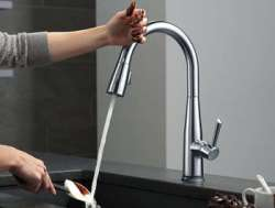 best touch on kitchen faucet reviews sensor