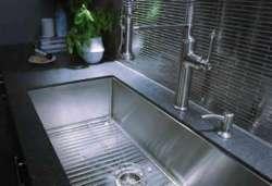 Wide kitchen sinks