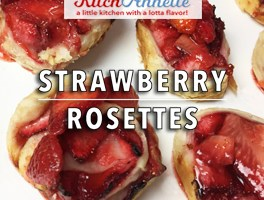 KitchAnnette Strawberry Rosettes Title Shot