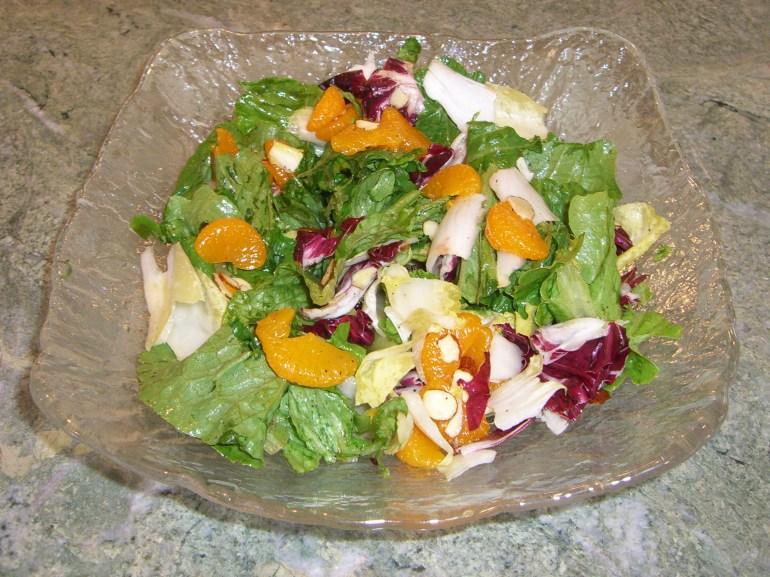 KitchAnnette Tri-Color Salad Hero