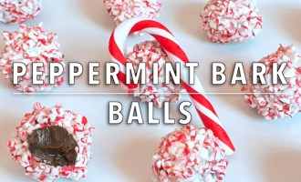 KitchAnnette Peppermint Bark Balls Feature
