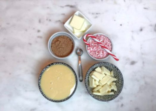 KitchAnnette Peppermint Bark Balls Ingredients