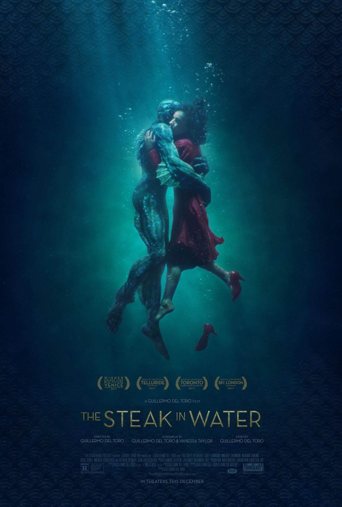 KitchAnnette 2018 Oscars The Steak in Water