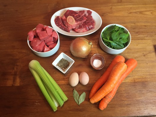 KitchAnnette The Steak in Water Ingredients