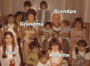 KitchAnnette Escarole Beans 13 Grandkids