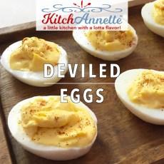 KitchAnnette Deviled Eggs FEATURE