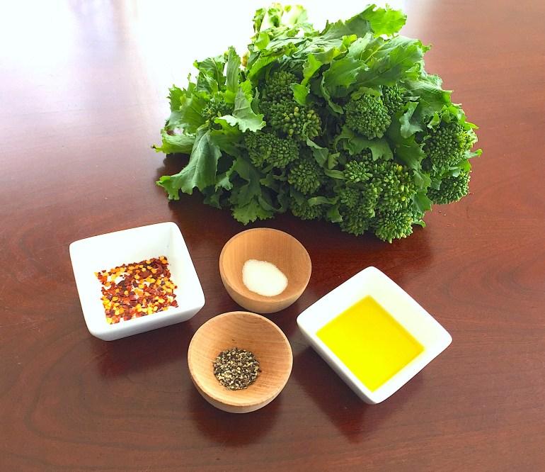 KitchAnnette Broccoli Rabe Ingredients
