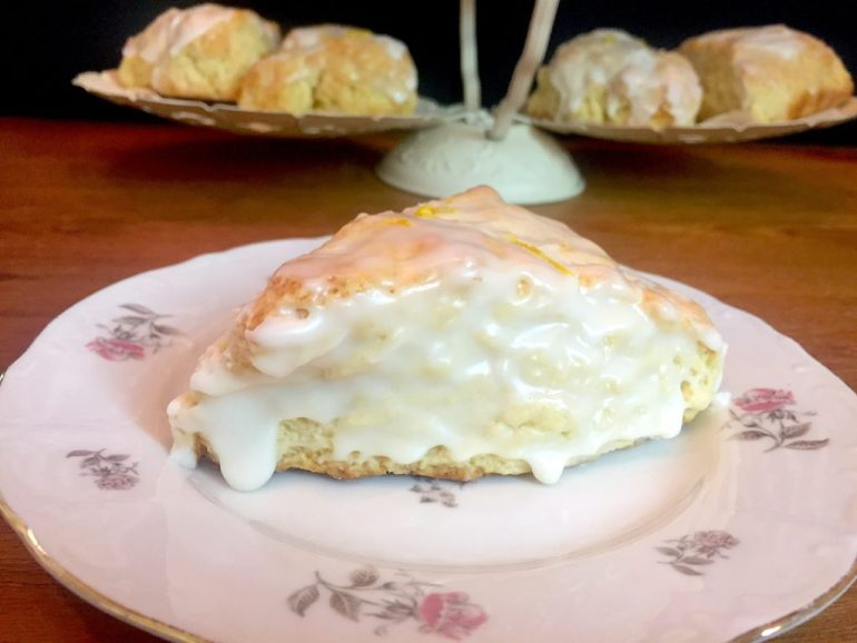 KitchAnnette Lemon Scones Hero