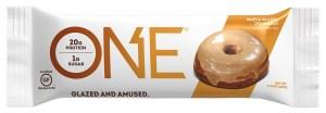 KitchAnnette One Bars Maple Glazed Donut