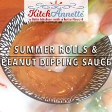KitchAnnette Summer Rolls FEATURE