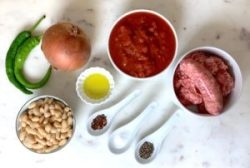 KitchAnnette Italian Chili Ingredients