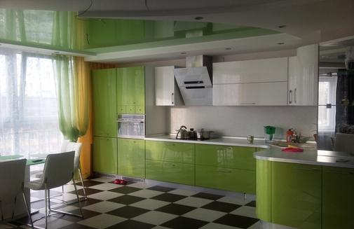 кухня какого цвета лучше