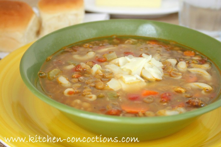 Lentil Bean Soup