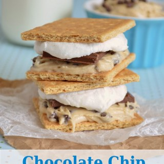 Chocolate Chip Cookie Dough S'mores