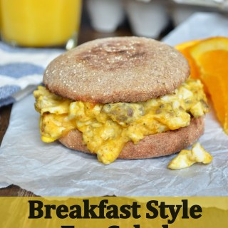 Breakfast Style Egg Salad Sandwiches