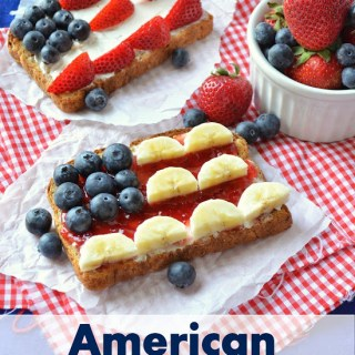 Kids in the Kitchen: American Flag Toast