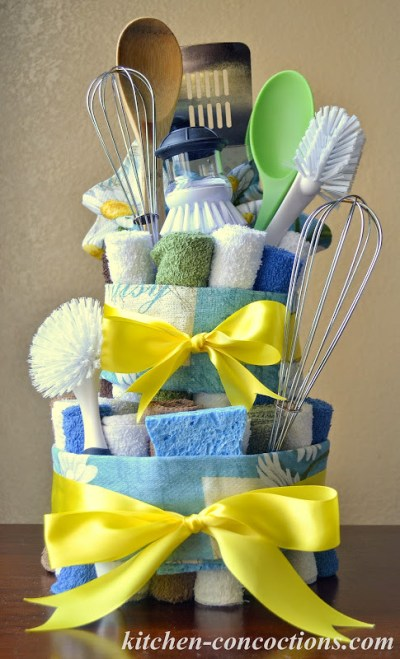 Creative soap ideas dish towel cake step by step for Creative ideas step by step