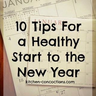 10 Tips For a Healthy Start to the New Year