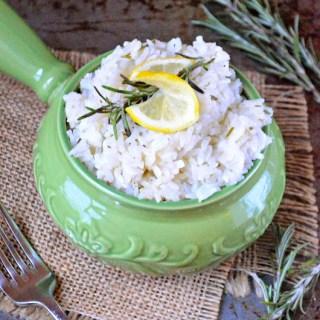 Lemon Rosemary Rice
