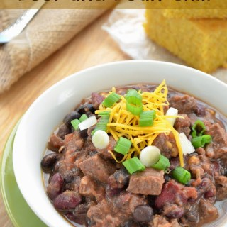 Slow Cooker Bourbon Beef and Bean Chili {Plus 6 Tips to Amp Up Your Chili}