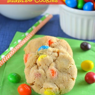 Peanut Butter M&M's® Cookies {Plus Four Tips for a Fun & Successful Game Night In}