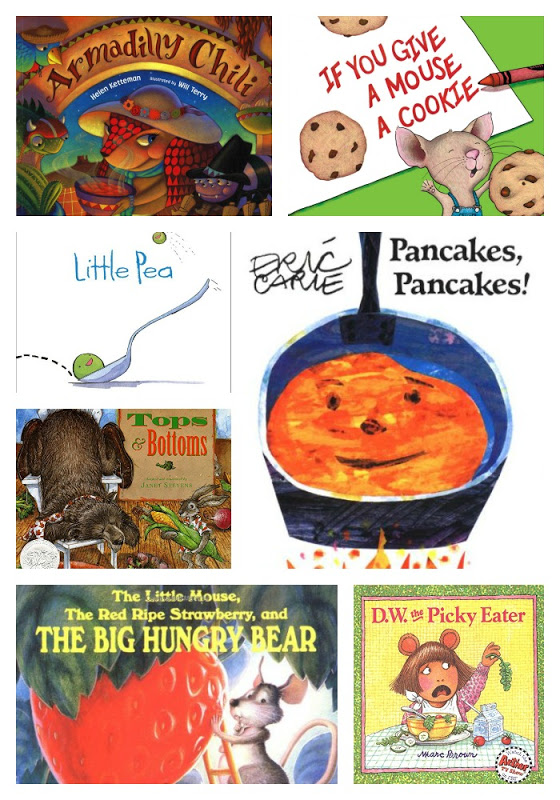 CHILDREN'S BOOKS ABOUT FOOD