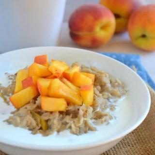 Peaches 'n Cream Oatmeal