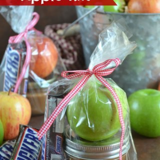 DIY Caramel Apple Gift Baskets
