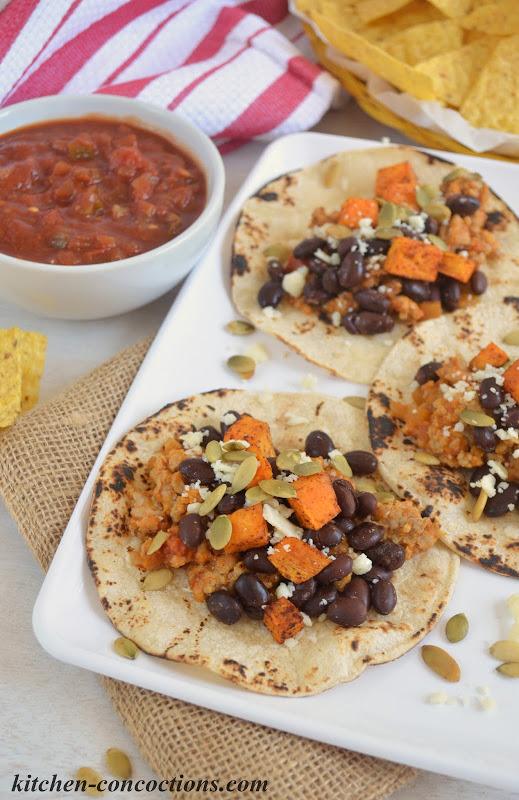 Hearty Fall Harvest Tacos
