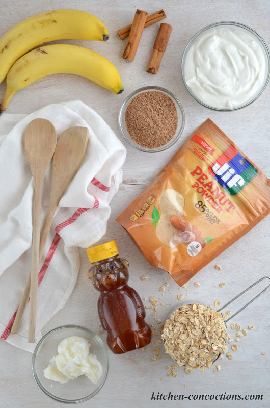 Peanut Butter Banana Breakfast Parfaits