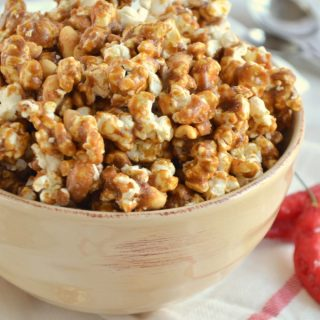 Sweet Heat Caramel Corn { Sally's Candy Addiction Cookbook Review}