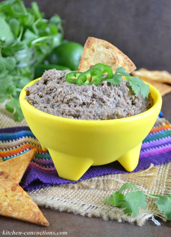 Black Bean Hummus