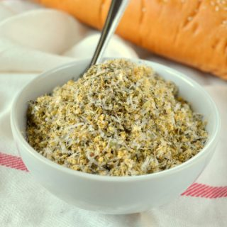 Homemade Garlic Bread Seasoning and a Pasta Dinner Gift Basket
