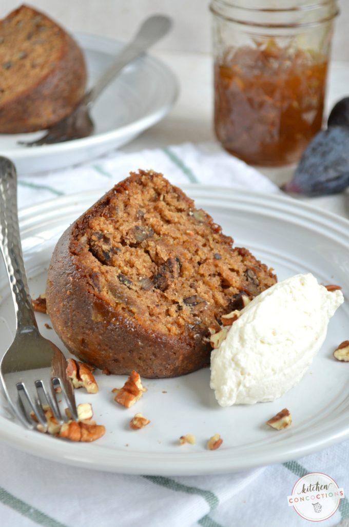 Chocolate Fig Preserve Cake