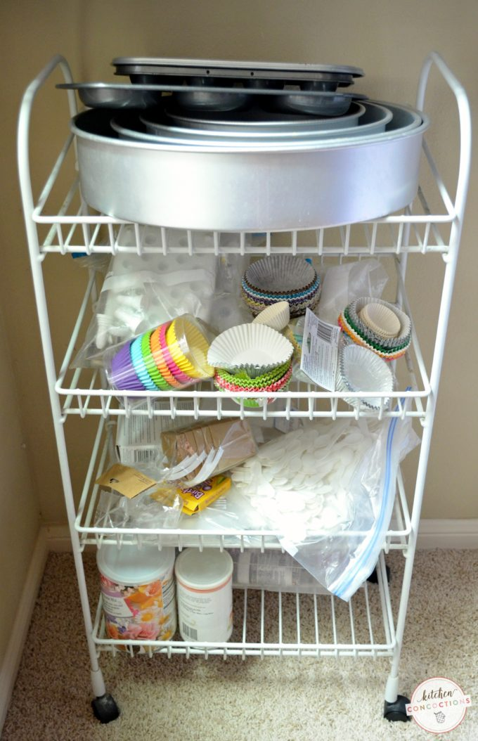 Baking Supply Organizing Ideas - Kitchen Concoctions