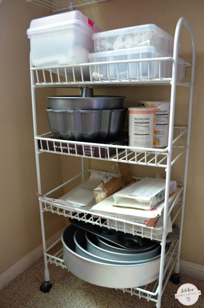 Baking Supply Organizing Ideas