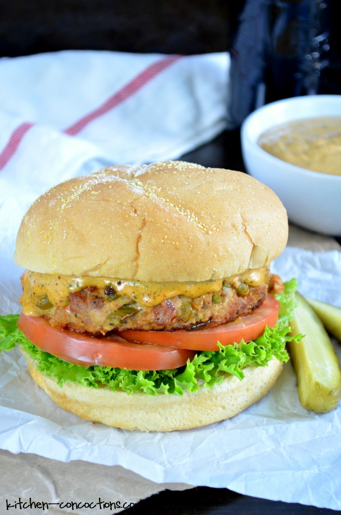 Cajun Pork Burgers