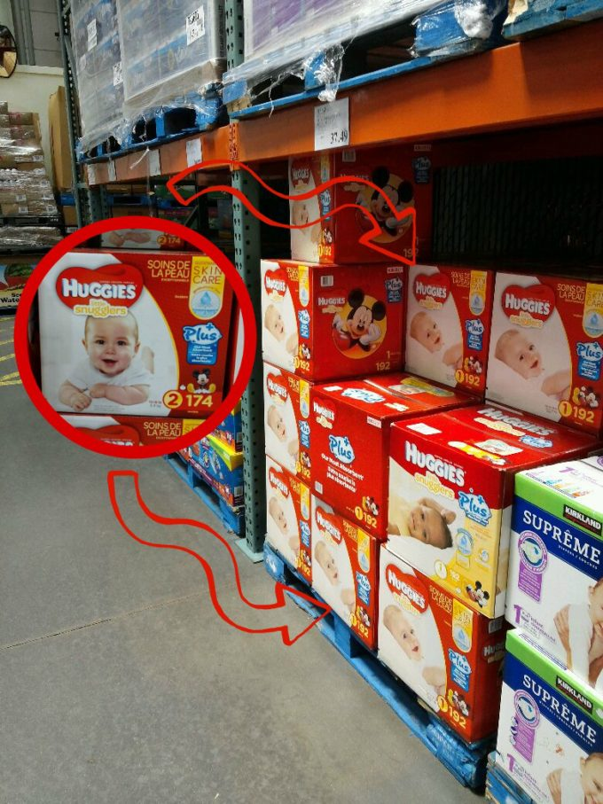huggies costco