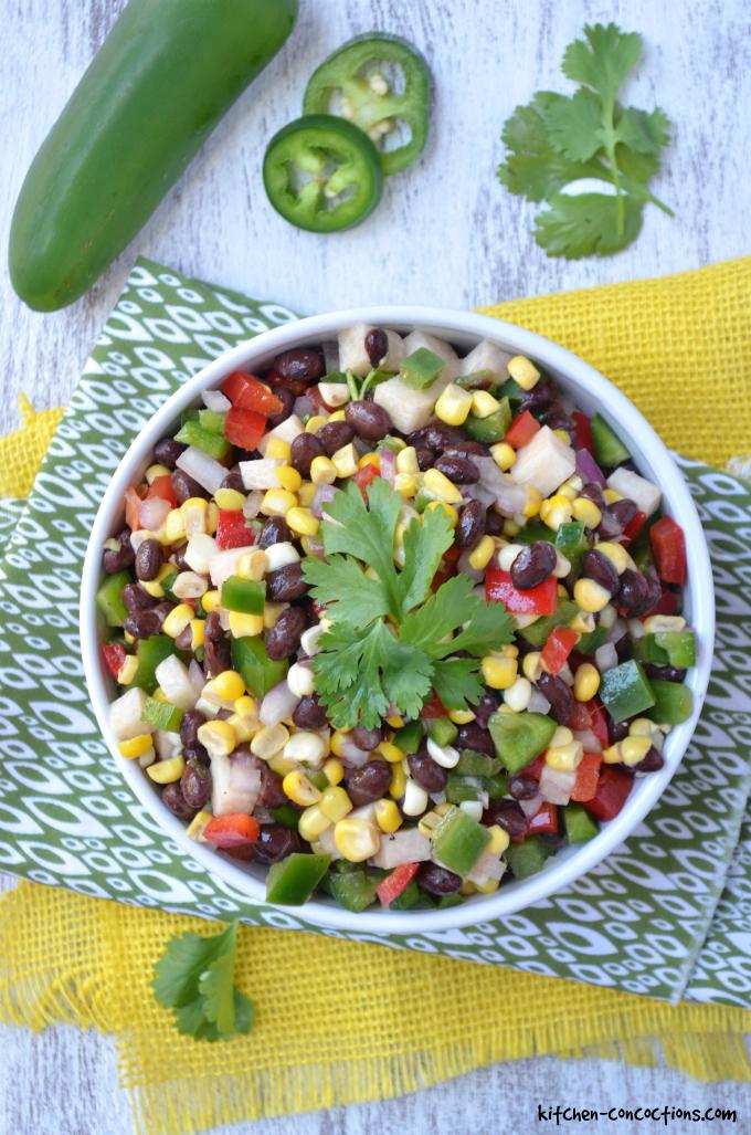 Colorful Black Bean Salad