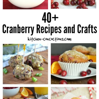 40+ Cranberry Recipes and Crafts