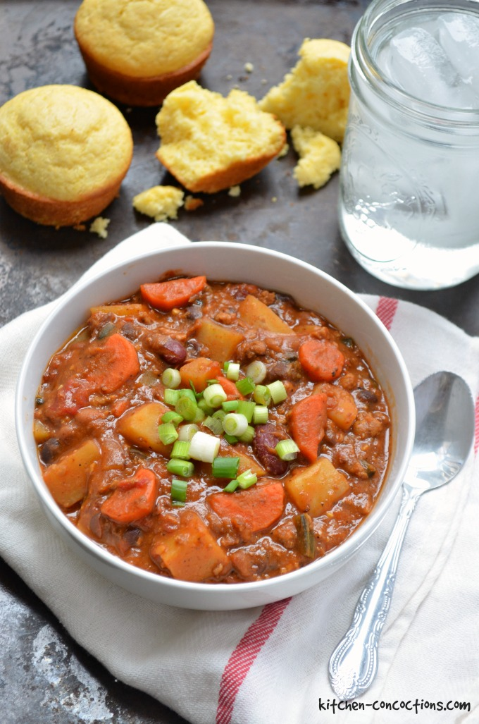 Cowboy Bean and Beef Stew