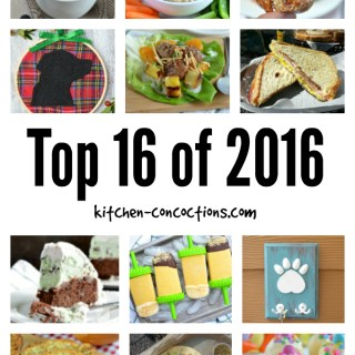 Top 16 of 2016 and Cheers to the New Year!