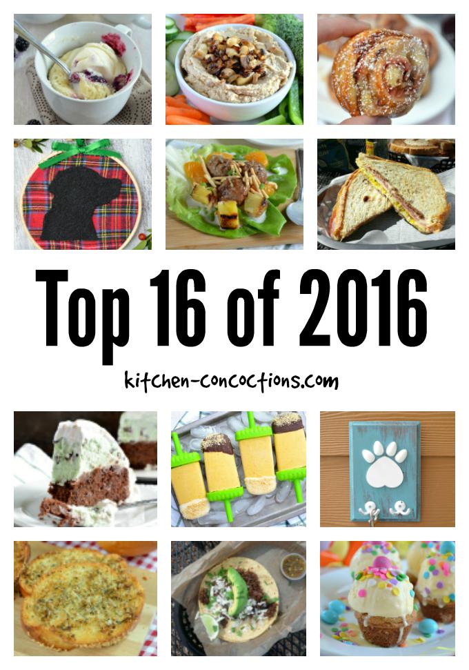 Top 16 of 2016