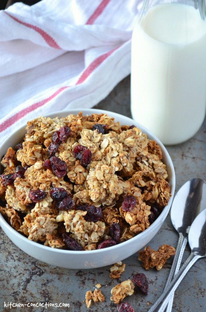 Big Cluster Maple Walnut Granola