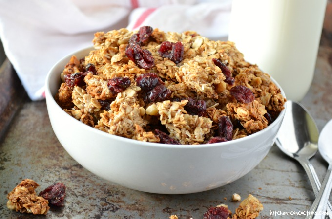 Maple Granola Recipe Smitten Kitchen