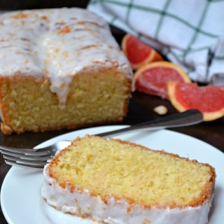 Grapefruit Olive Oil Pound Cake