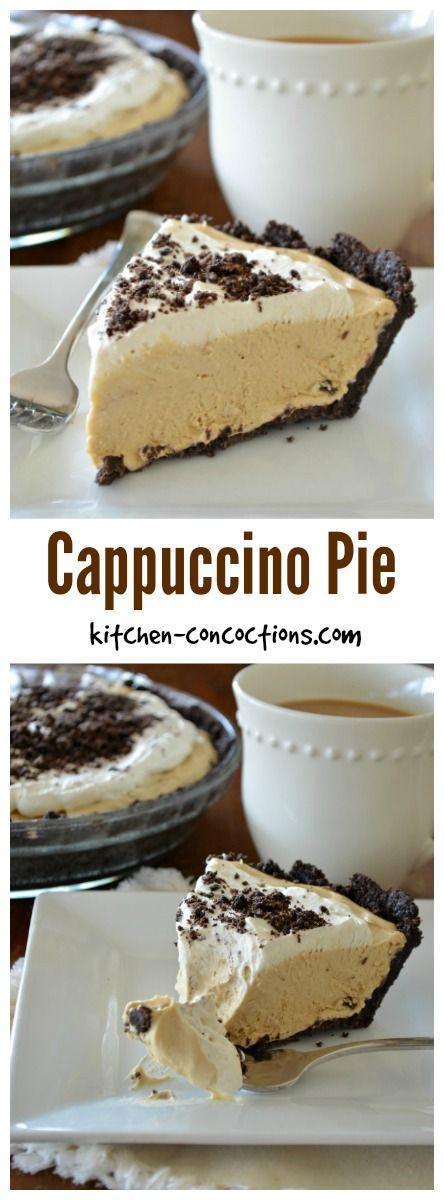 Cappuccino Pie
