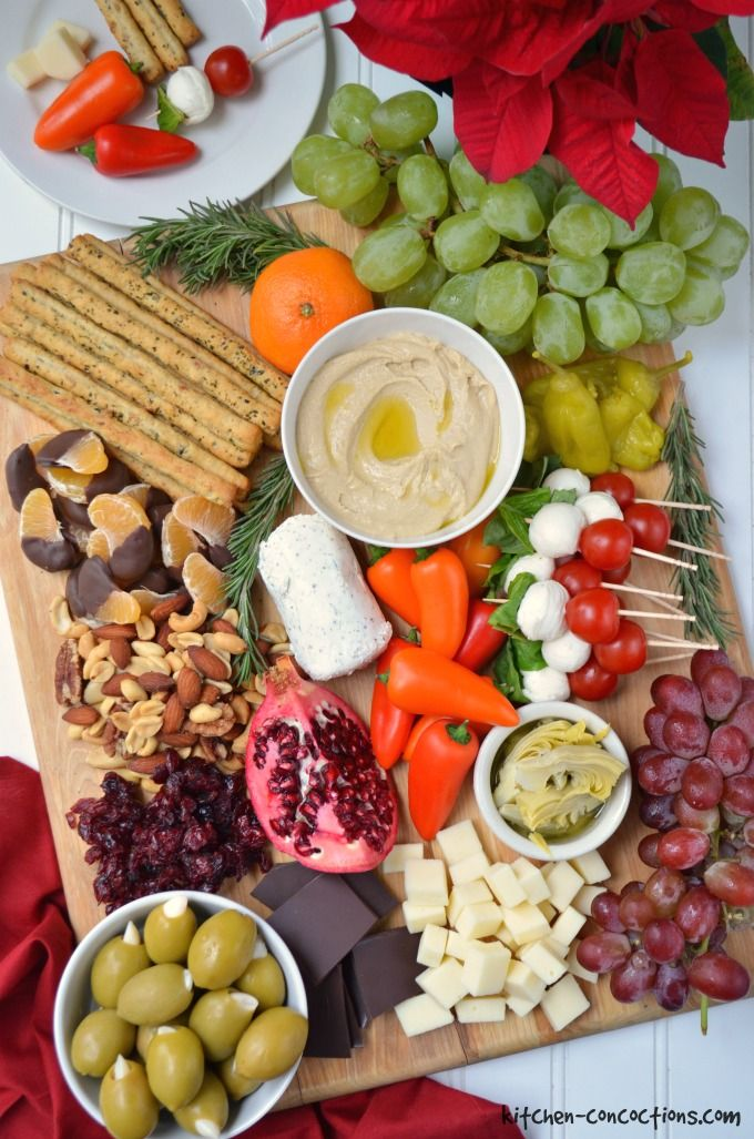 Holiday Antipasto Platter Ideas - Kitchen Concoctions