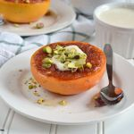Lighter Breakfast Recipe: Broiled Grapefruit with Honey Ricotta and Pistachios